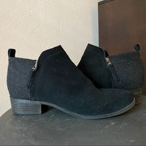 Toms Deia Ankle Booties 9W